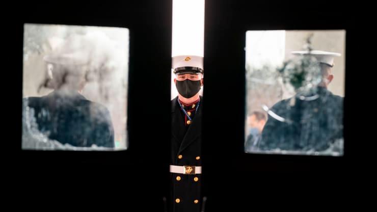 واشنگتن پایتخت برای مراسم تحلیف جو بایدن 8 شمارش معکوس می کند