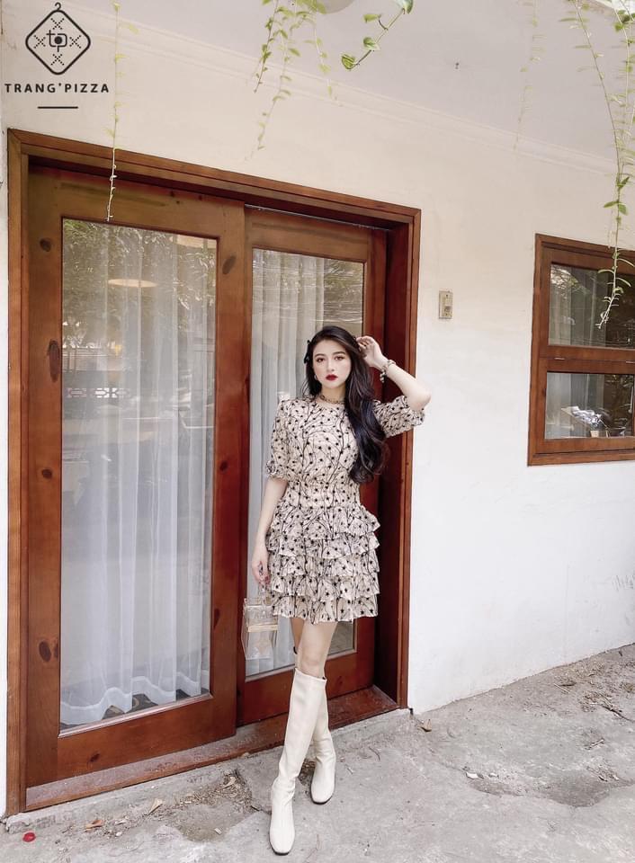 Cùng Lê Hồng Ngọc Cẩm Store khám phá ra cách mặc váy mùa đông vẫn ấm áp 3