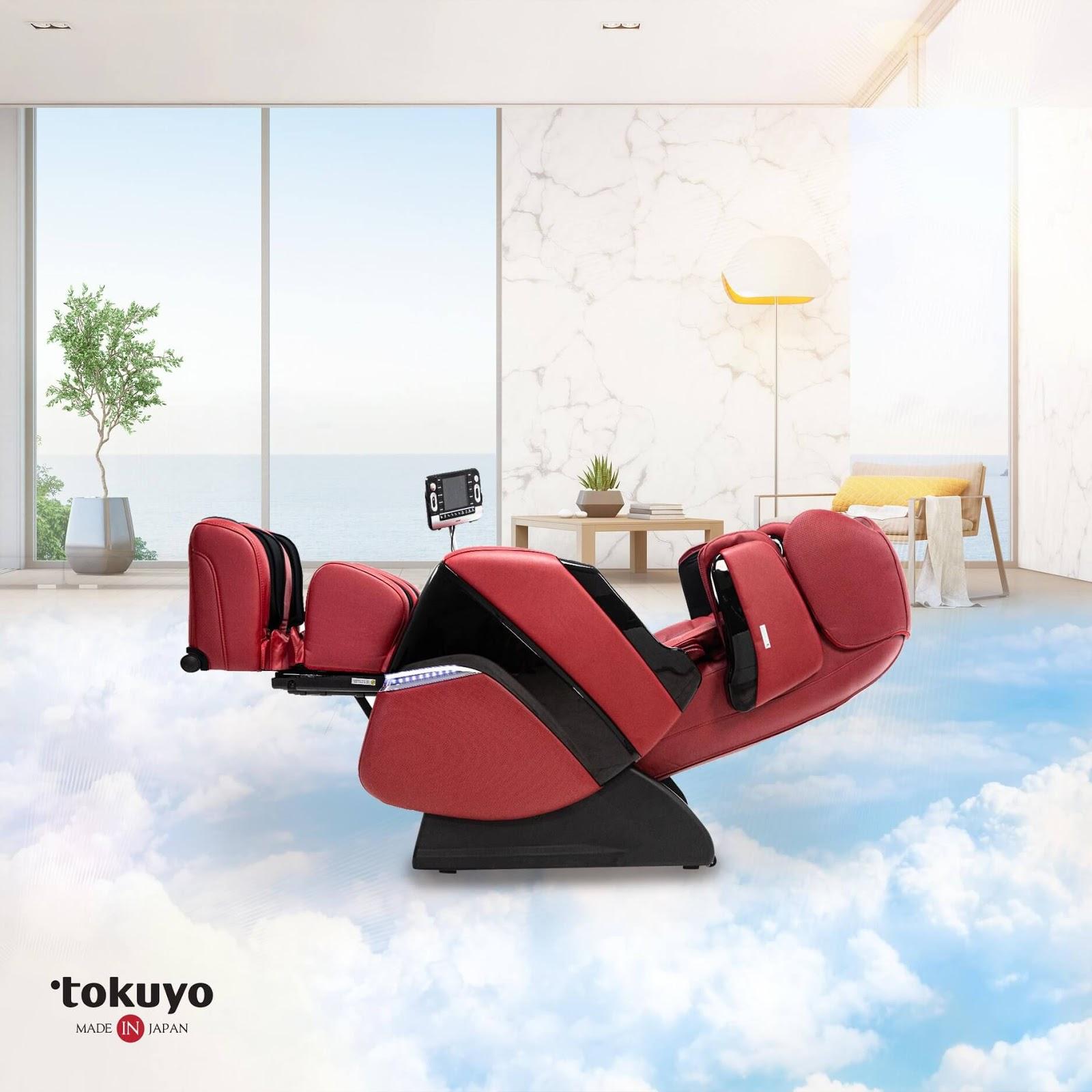 لوکس ترین صندلی ماساژ توکیو چه چیز استثنایی دارد؟  2