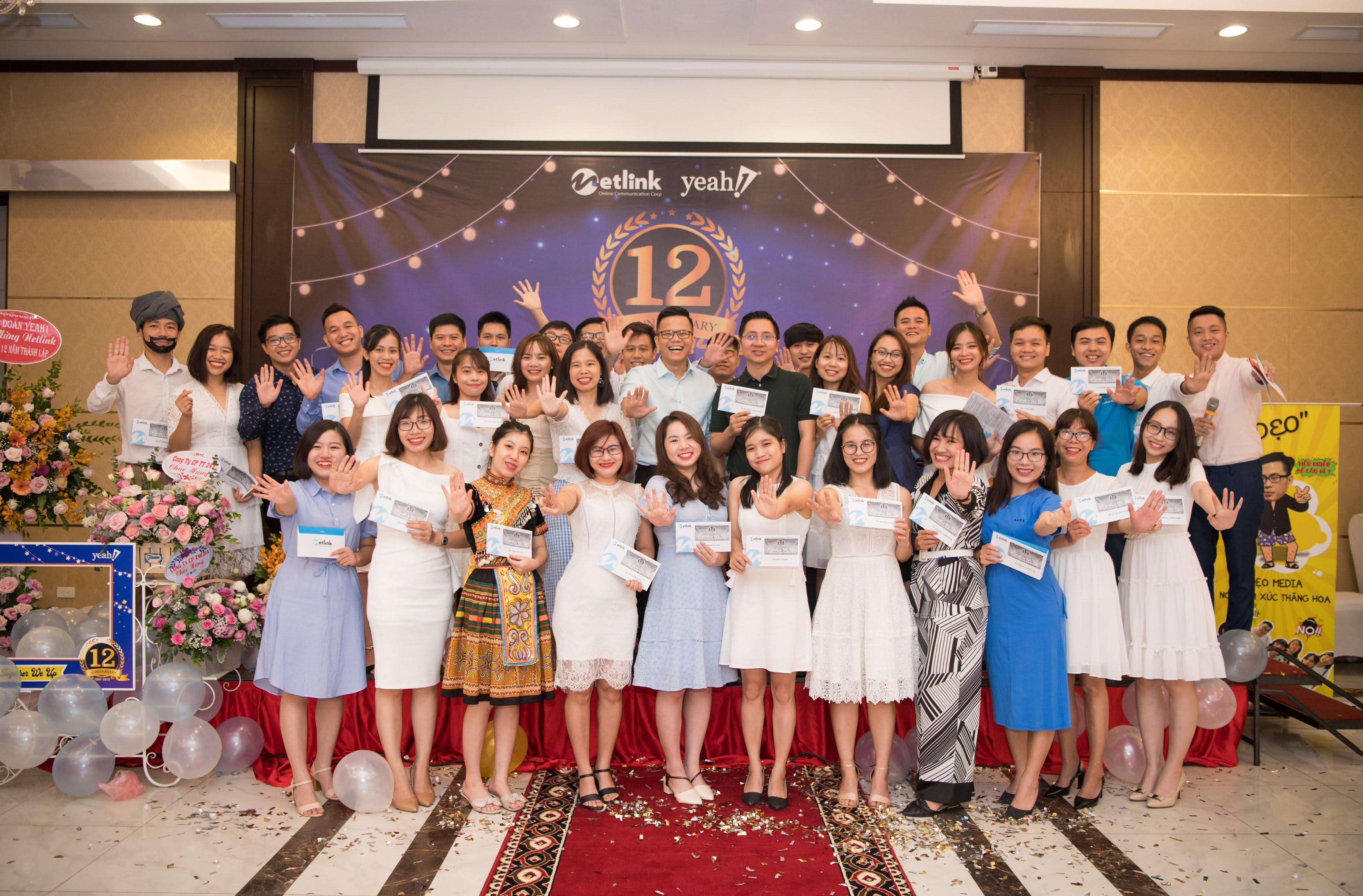 Netlink kỷ niệm 12 năm thành lập 2