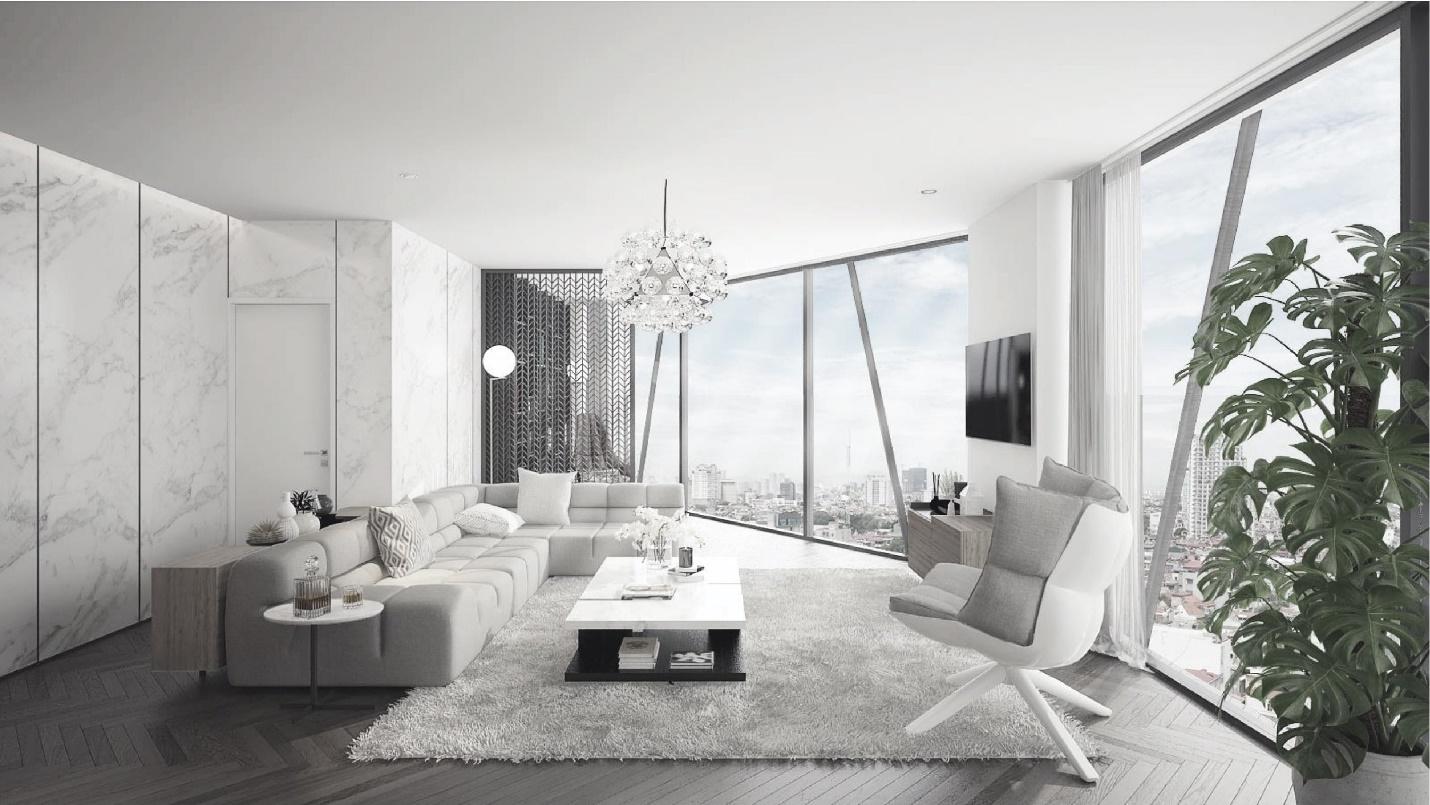 Ra mắt dự án đầu tiên tại Hà Nội thiết kế 100% căn hộ có tầm nhìn Panorama đẳng cấp 4