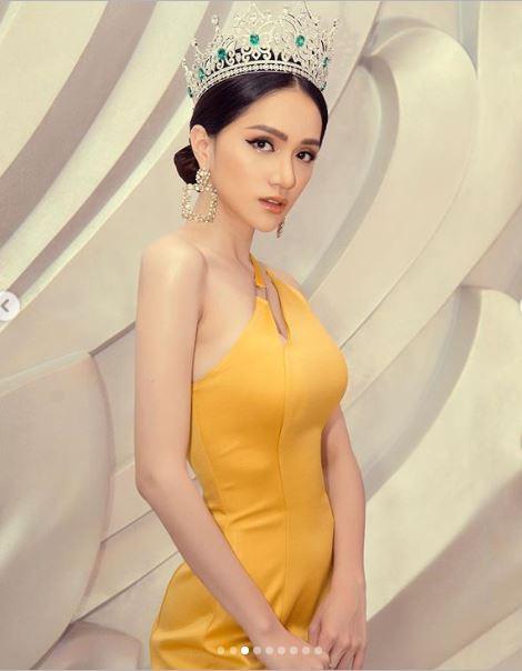 Hoa hậu Hương Giang khoe vẻ đẹp hút hồn trước thời khắc cận kề chuyển giao vương miện 8