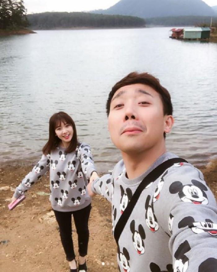 Đọ độ lãng mạn của 2 cặp đôi đình đám Trường Giang - Nhã Phương và Trấn Thành - Hari Won 4