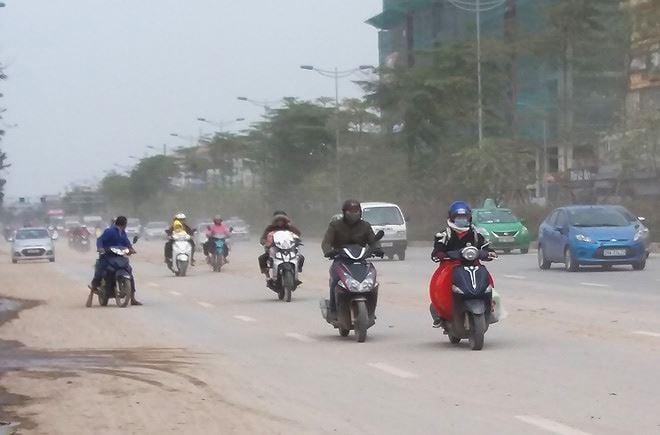 Báo động: Chất lượng không khí ở Hà Nội đã ở mức rất xấu 2