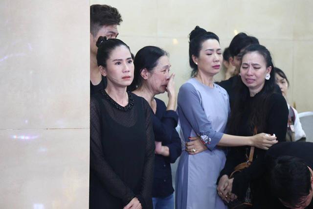 Hồng Vân, Minh Nhí và dàn nghệ sĩ Việt khóc nức nở trong tang lễ Anh Vũ 7
