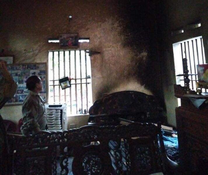 Hà Nam: Con gái phóng hỏa đốt nhà giữa đêm thiêu sống bố mẹ 1
