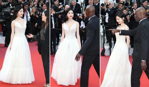 Cảnh Điềm lên tiếng phản pháo khi bị tố câu giờ trên thảm đỏ Cannes 1