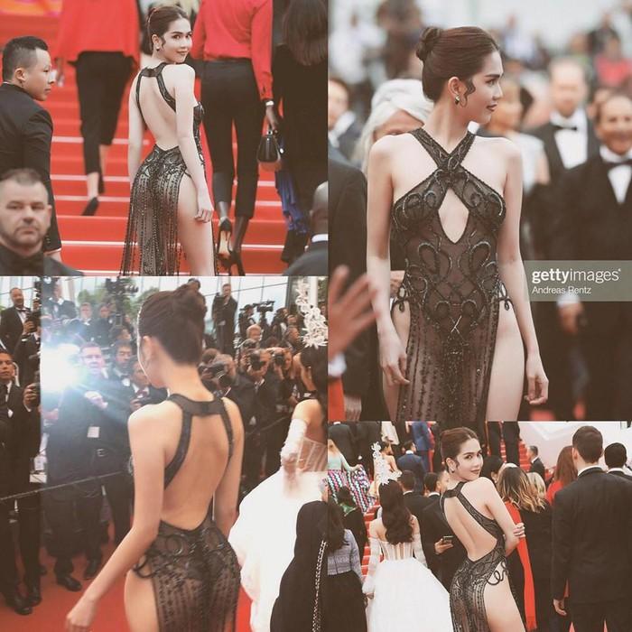 Không chỉ Ngọc Trinh, thảm đỏ Cannes từng chứng kiến nhiều sao thế giới diện đồ phản cảm 2