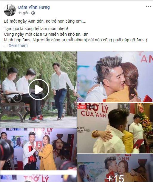 Mỹ Tâm cười tít khi Đàm Vĩnh Hưng ôm hôn thắm thiết, fan đòi ngay một đám cưới 1