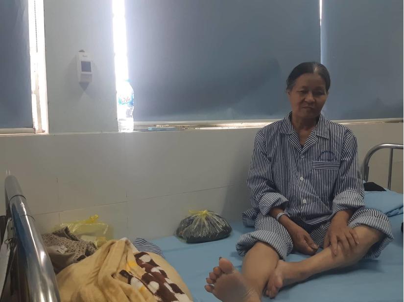 Hải Phòng: Phó Chủ tịch phường nghi đạp gãy chân một phụ nữ 1