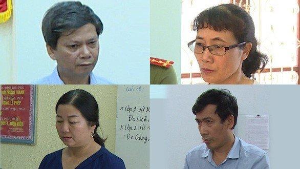 Người thân các thí sinh được nâng điểm ở Sơn La khai báo gì tại cơ quan công an? 1