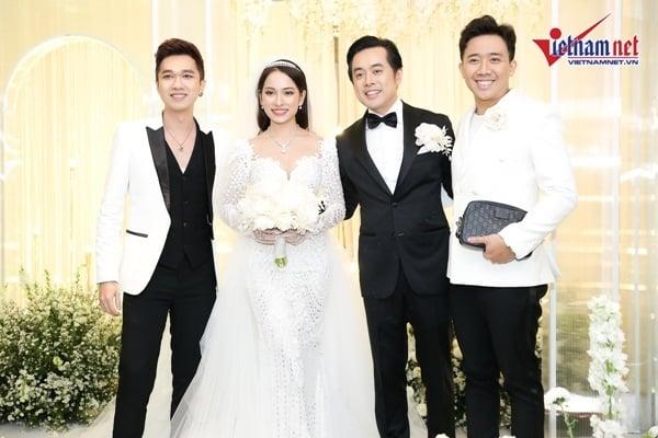 Thiếu Hari Won, Trấn Thành bất ngờ bị 'ném đá' vì chơi trội đi dự đám cưới Dương Khắc Linh 3